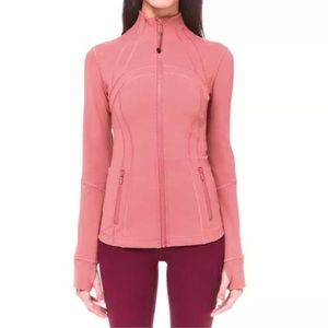 Lululemon Define Jacket Dusty Rose Colour Size 8